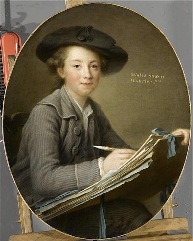 Les Drouais, artistes peintres de père en fils : Jean, Hubert, François-Hubert et Jean-Germain Drouais Captu536