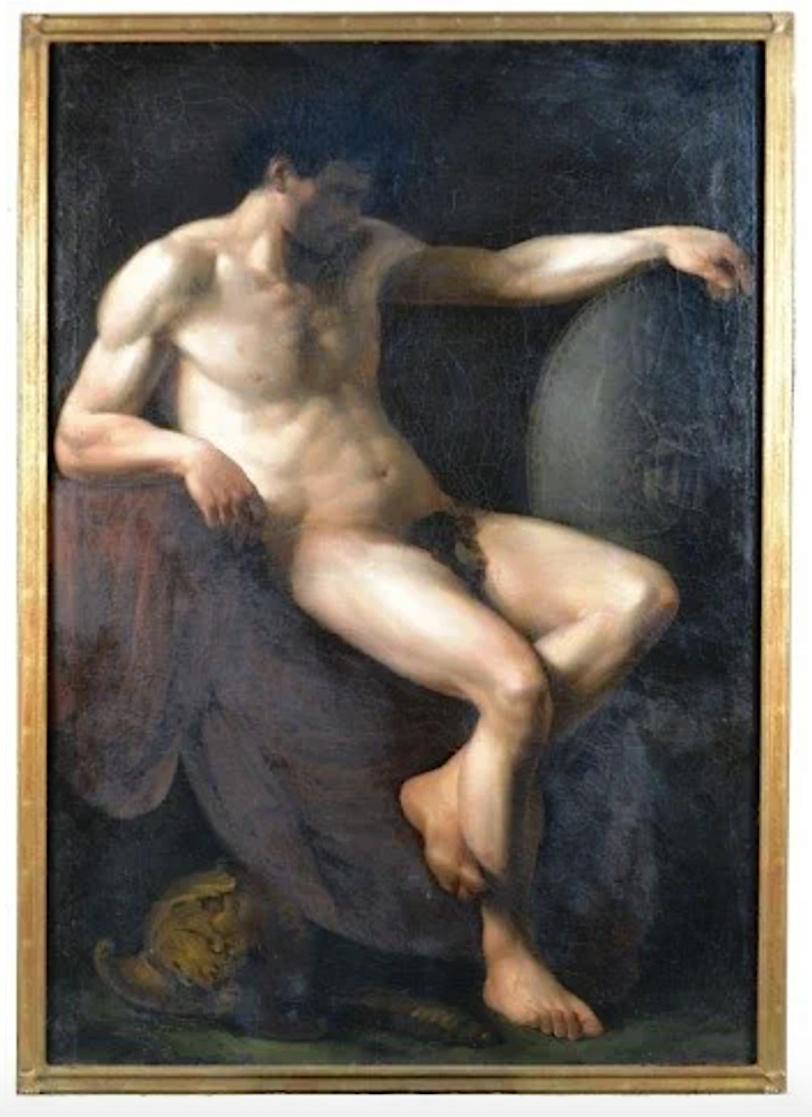 Les Drouais, artistes peintres de père en fils : Jean, Hubert, François-Hubert et Jean-Germain Drouais Captu538
