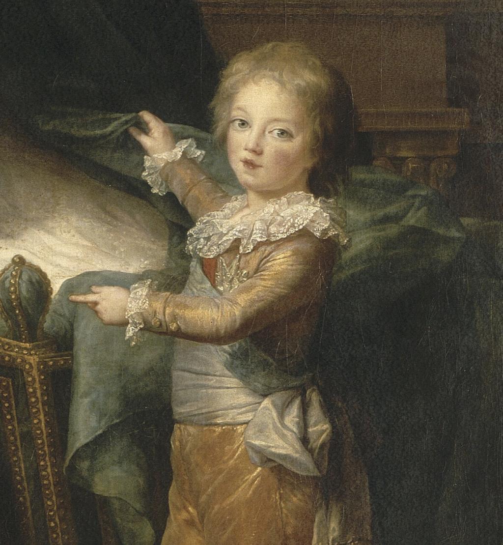 Marie-Antoinette et ses enfants, par Elisabeth Vigée Le Brun (1787) - Page 2 Captu582
