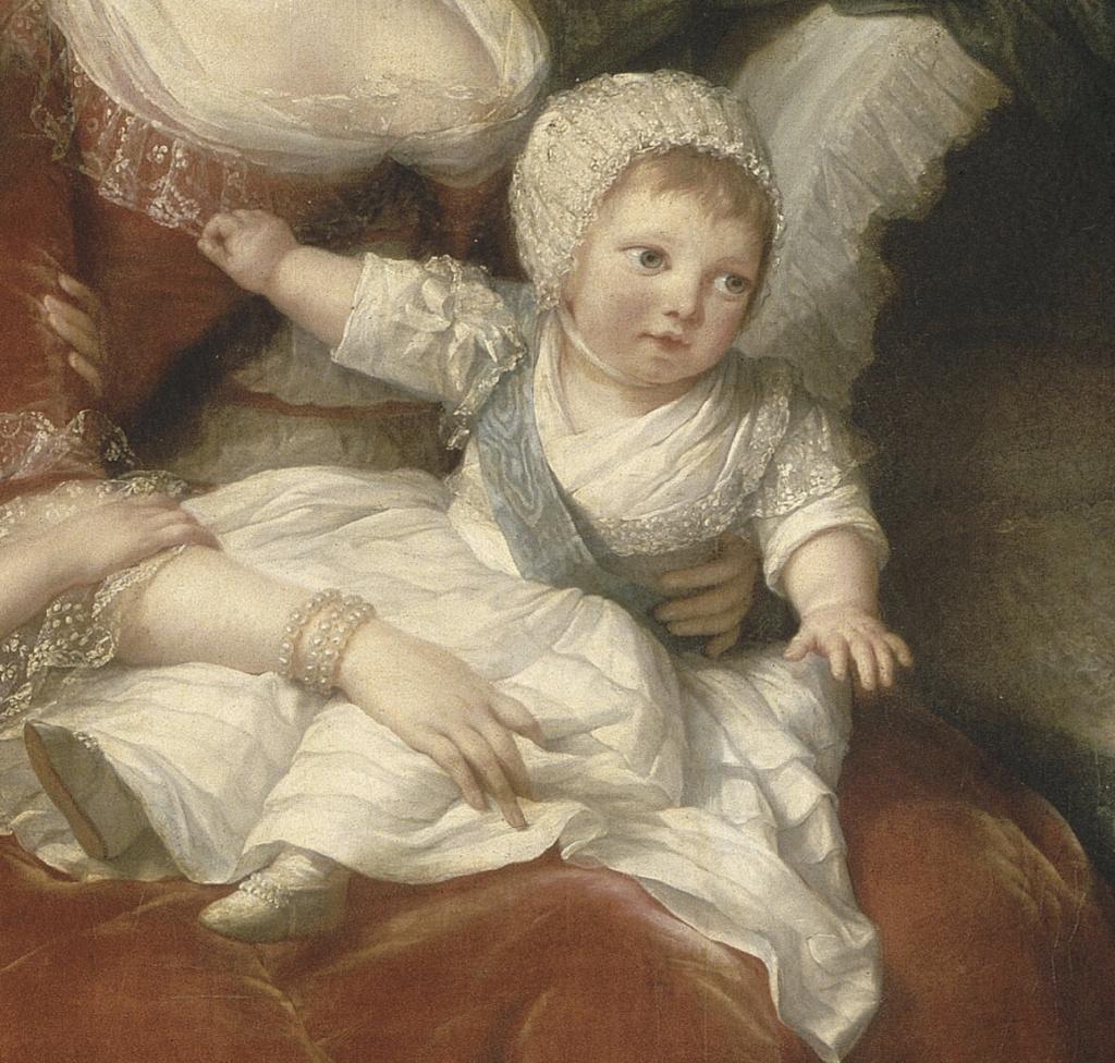 Marie-Antoinette et ses enfants, par Elisabeth Vigée Le Brun (1787) - Page 2 Captu583