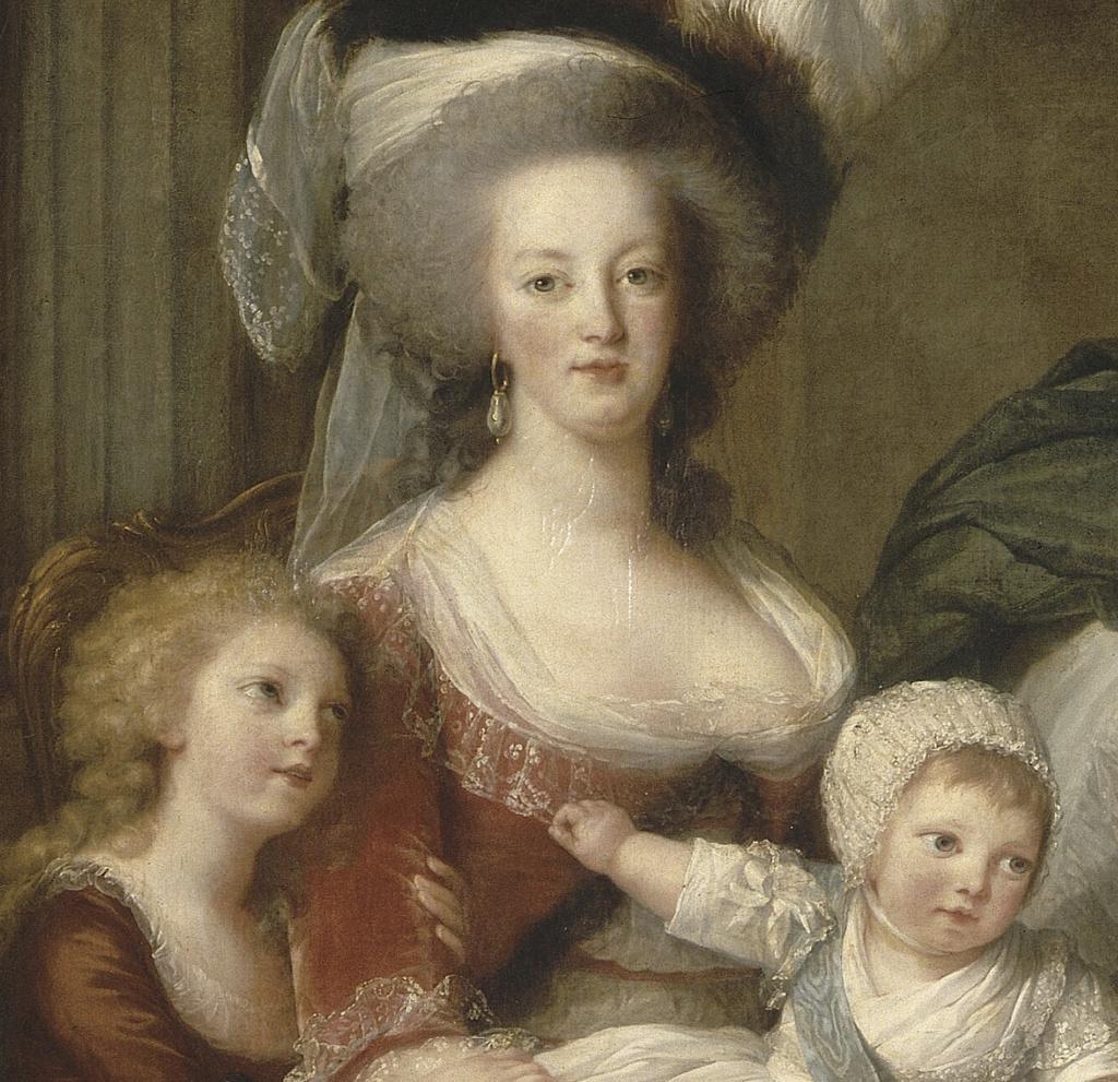 Marie-Antoinette et ses enfants, par Elisabeth Vigée Le Brun (1787) - Page 2 Captu584