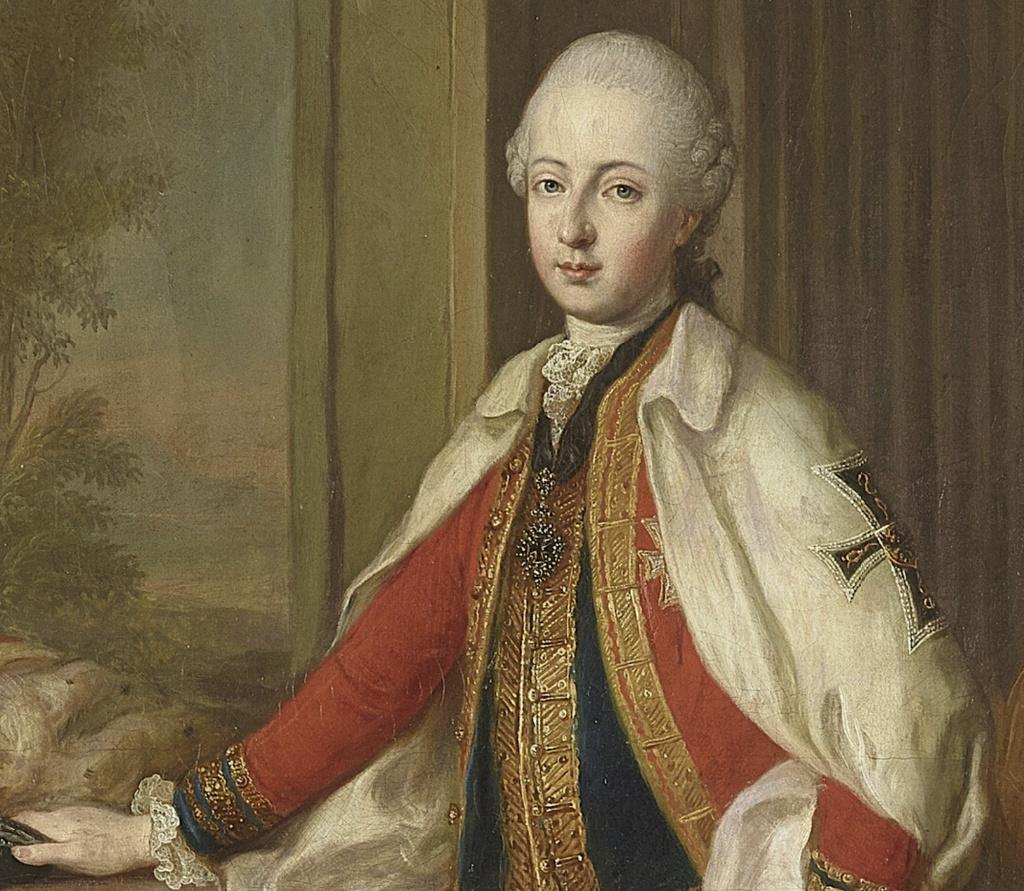 Les visites des archiducs Maximilien et Ferdinand d'Autriche, à Versailles Captu597