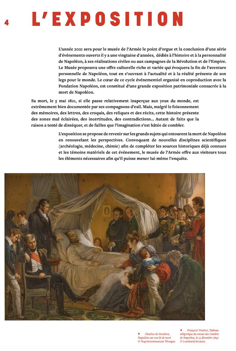 2021, année Napoléon. Bicentenaire de la mort de l'empereur Napoléon Ier.  - Page 2 Captu685