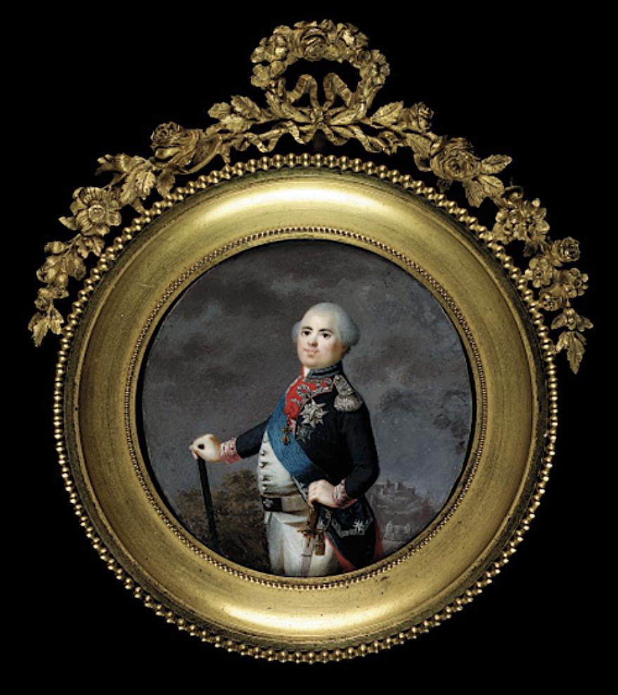Louis-Stanislas, comte de Provence, et futur roi Louis XVIII - Page 9 Captu741