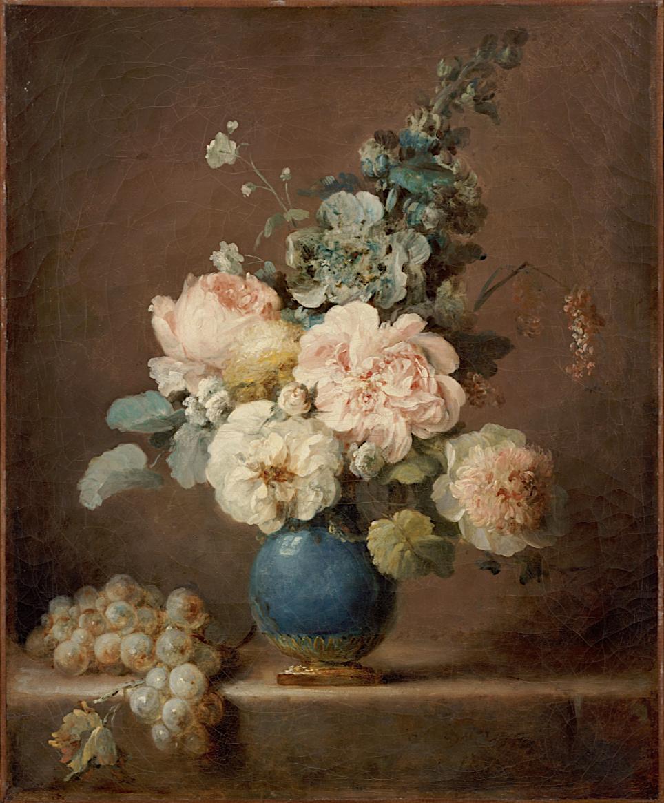 Anne Vallayer-Coster, chef du cabinet de peinture de Marie-Antoinette Captu742
