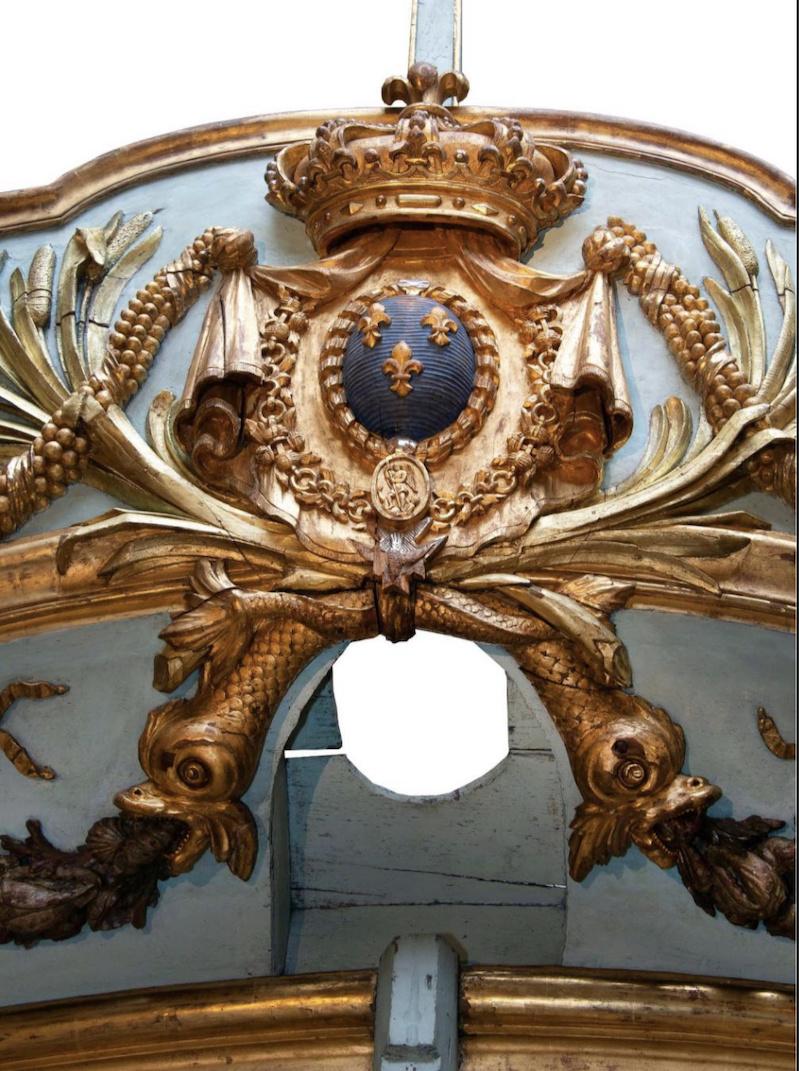 Le canot de promenade de Marie-Antoinette à Versailles Captu753
