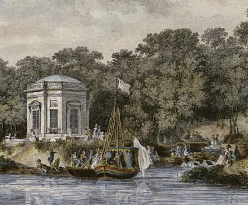 Le canot de promenade de Marie-Antoinette à Versailles Captu764