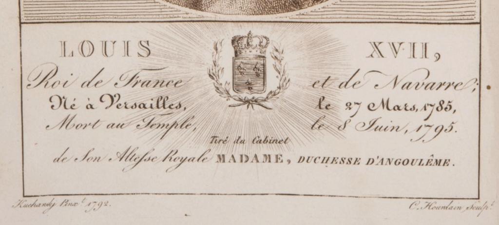 Portraits de Madame Royale, duchesse d'Angoulême - Page 5 Captu764
