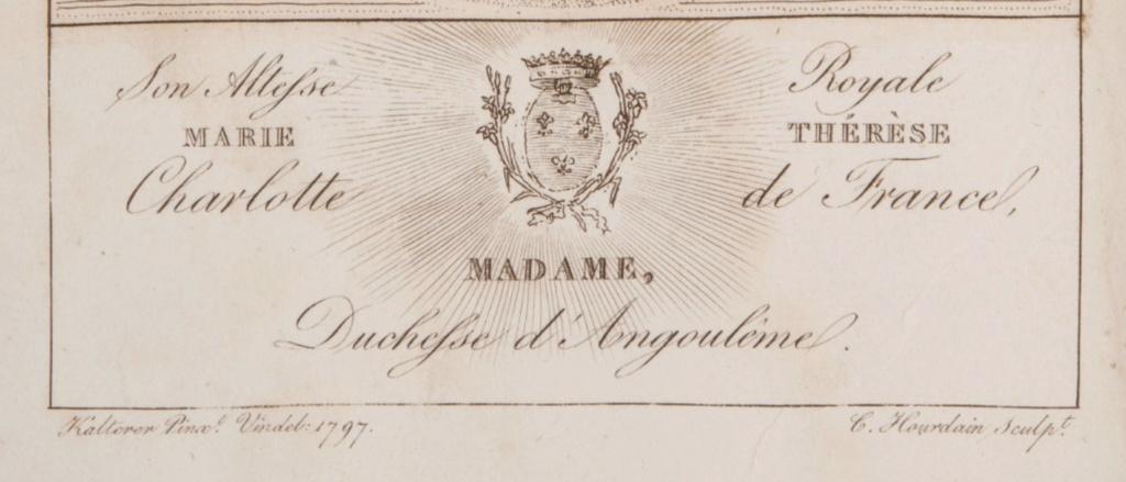 Portraits de Madame Royale, duchesse d'Angoulême - Page 5 Captu765