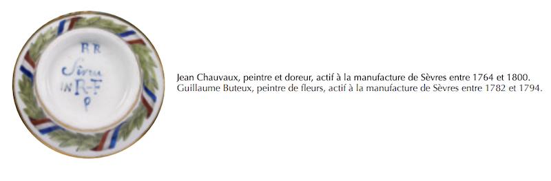 """Les services en porcelaine de Sèvres à décors """"révolutionnaires"""" (durant la Révolution française) Captu792"""