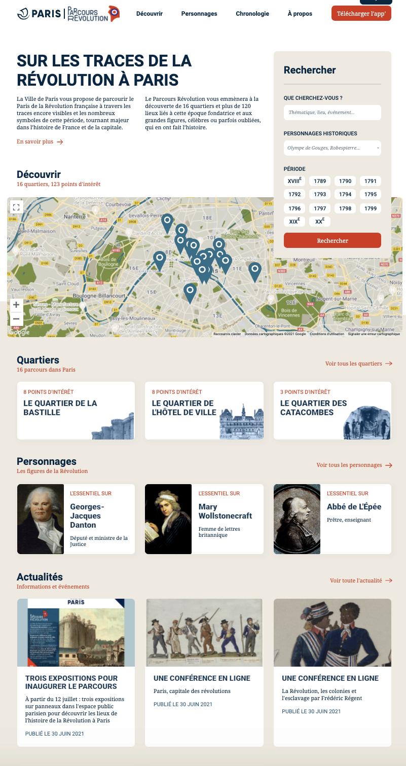 Parcours Révolution : le Paris de la Révolution française Captu795