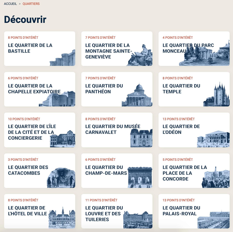 Parcours Révolution : le Paris de la Révolution française Captu796