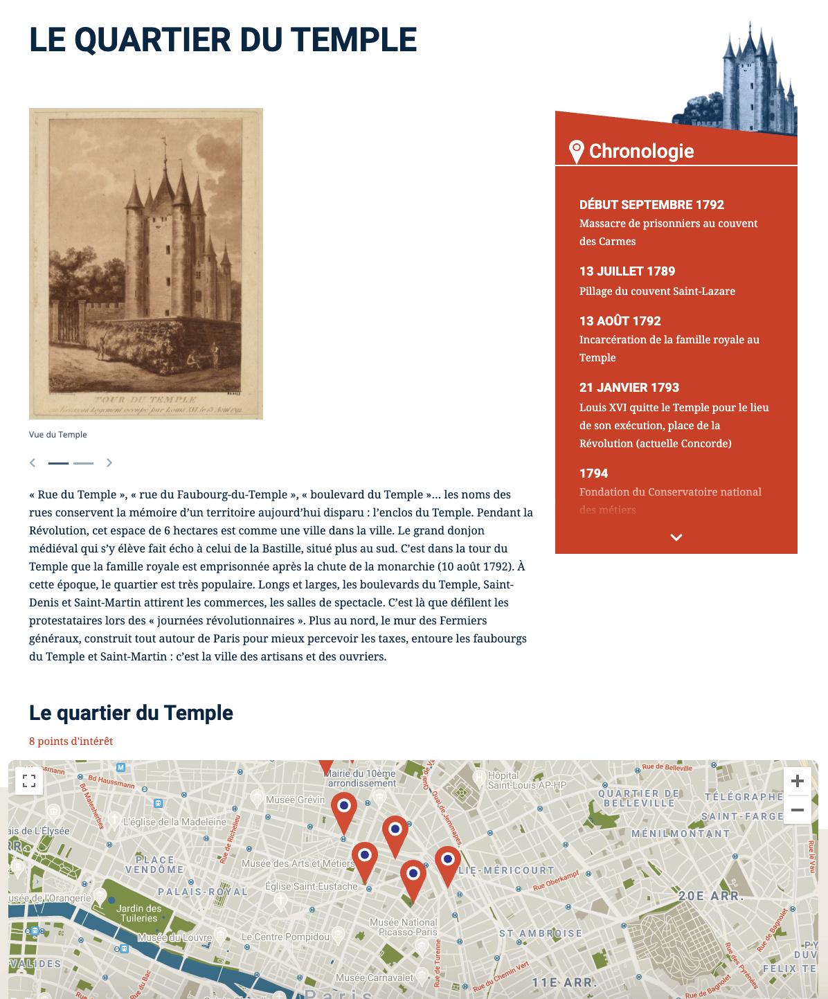 Parcours Révolution : le Paris de la Révolution française Captu798