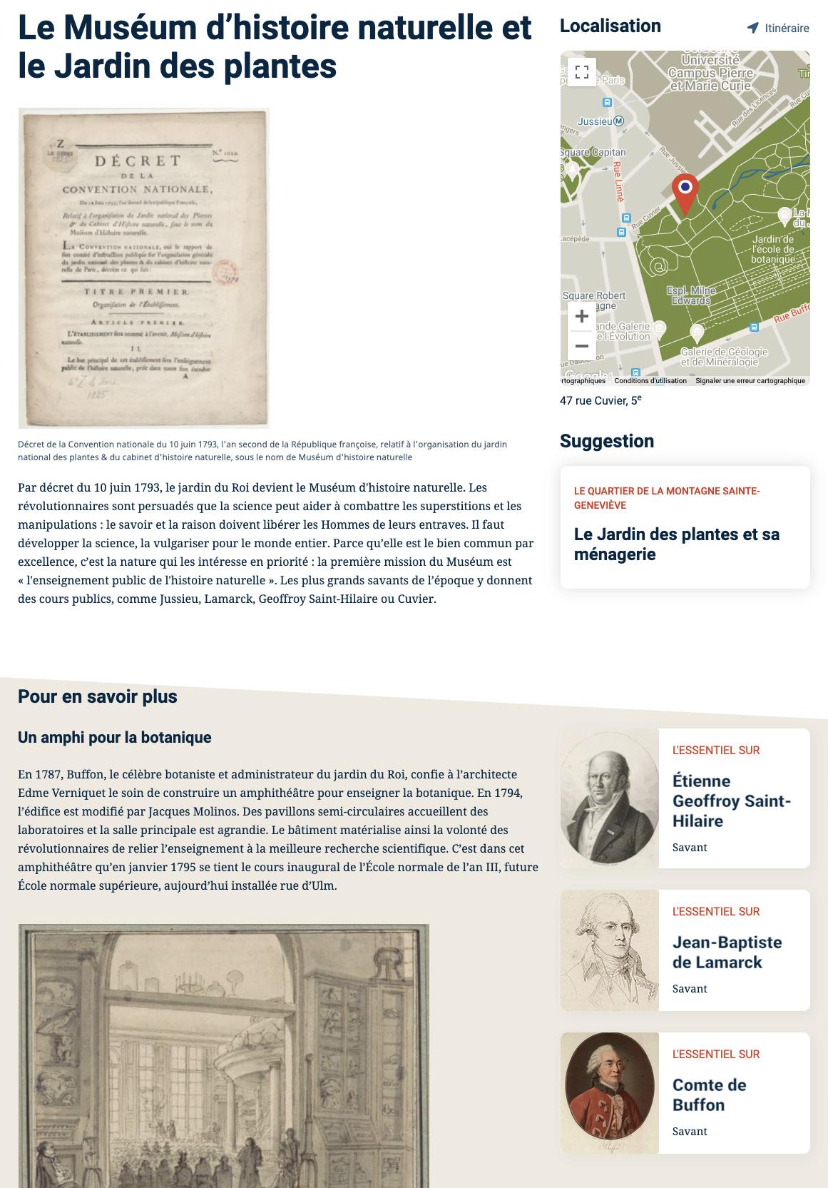 Parcours Révolution : le Paris de la Révolution française Captu806