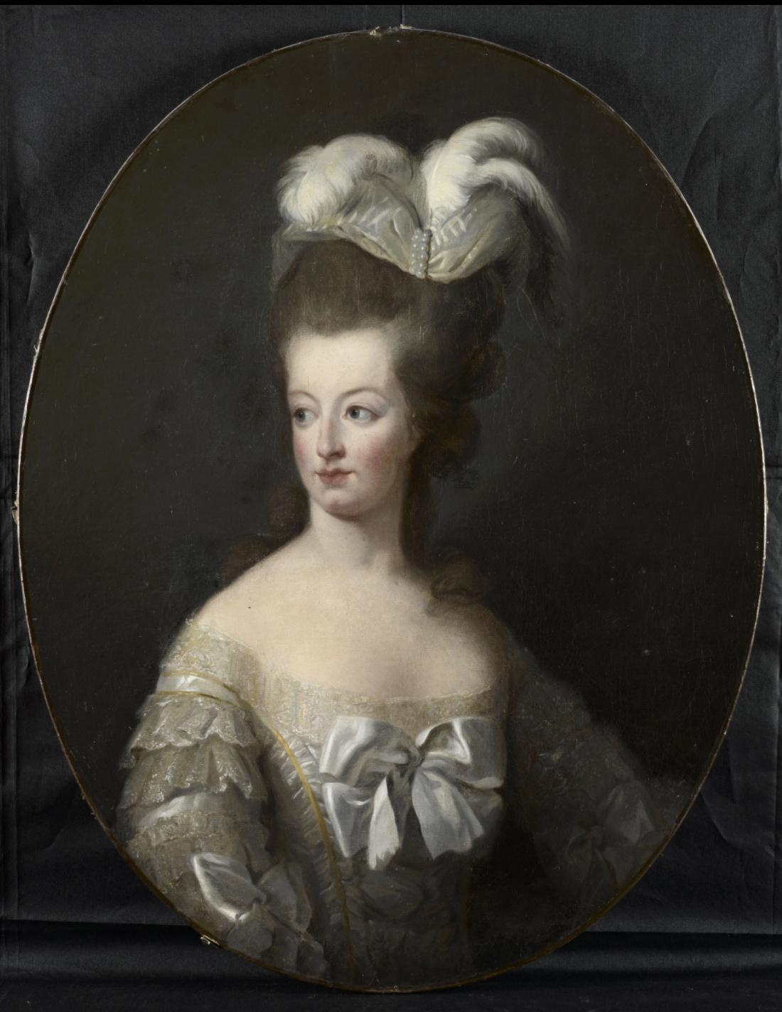 Marie-Antoinette en buste par et d'après Mme Vigée-Lebrun (1778) Captu811