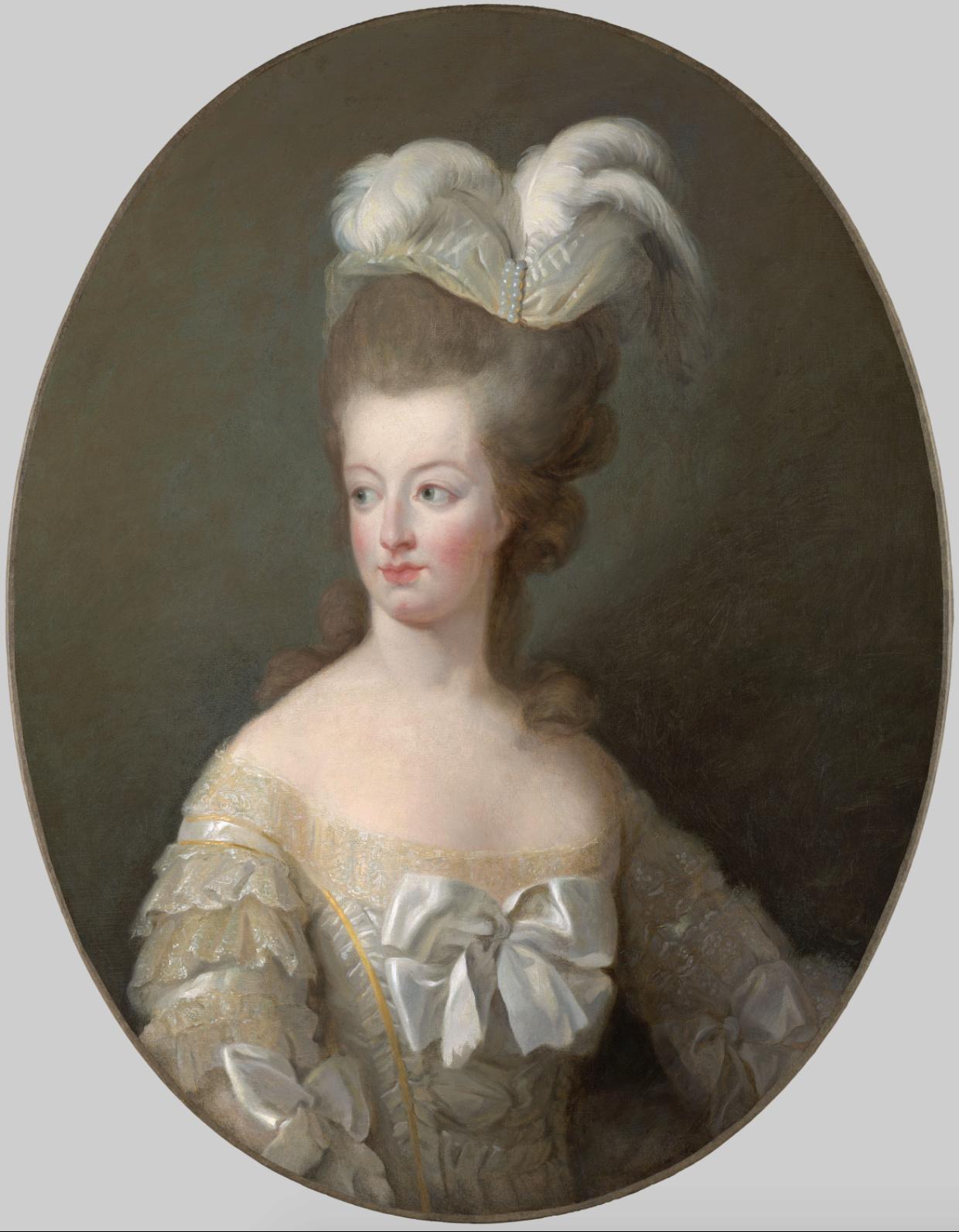 Marie-Antoinette en buste par et d'après Mme Vigée-Lebrun (1778) Captu812