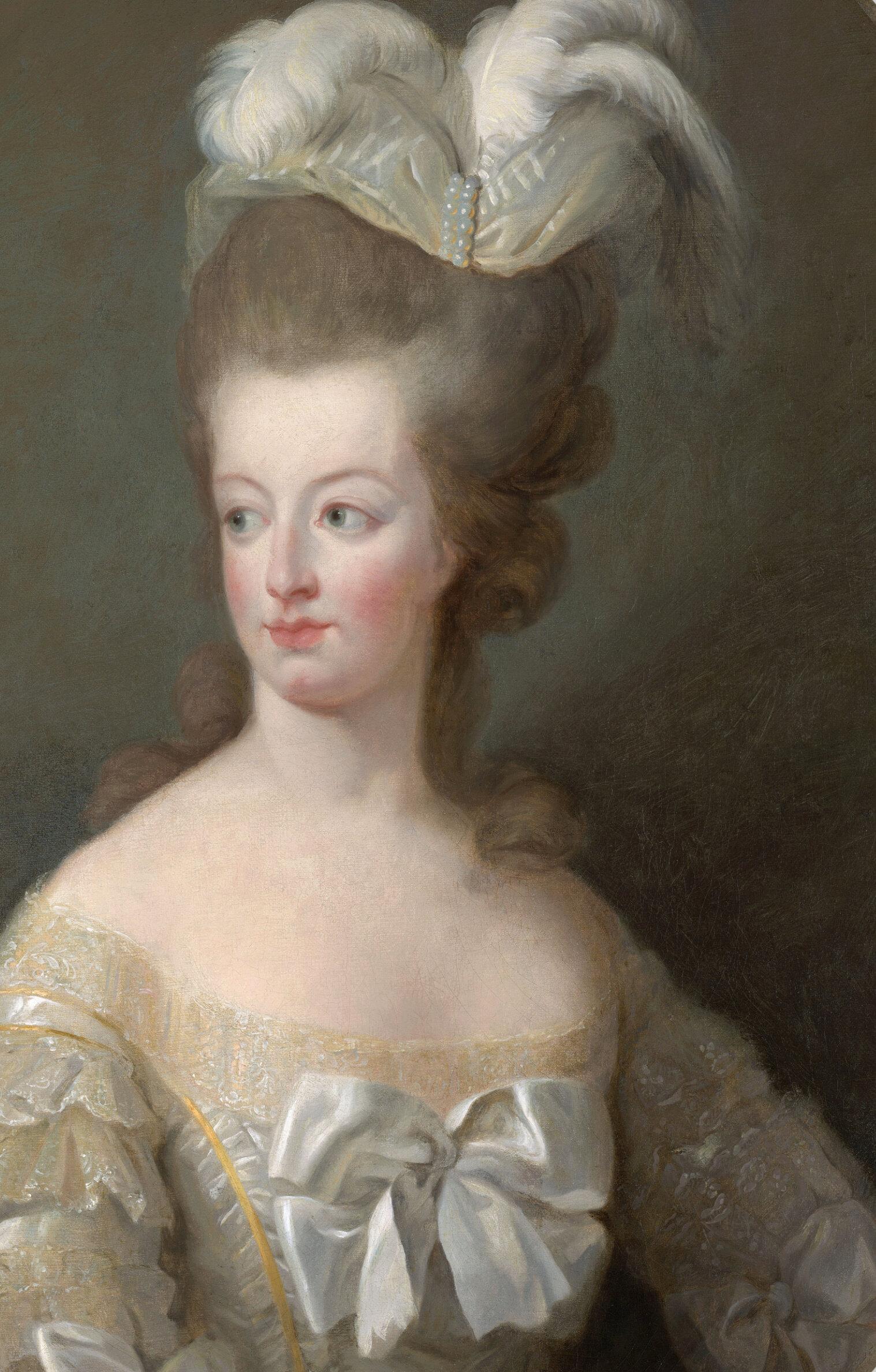 Marie-Antoinette en buste par et d'après Mme Vigée-Lebrun (1778) Captu813
