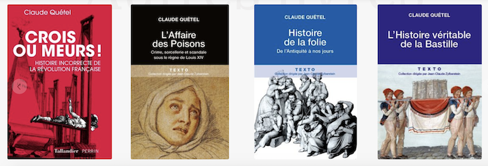 Crois ou meurs ! Histoire incorrecte de la Révolution française. De Claude Quétel Captu863