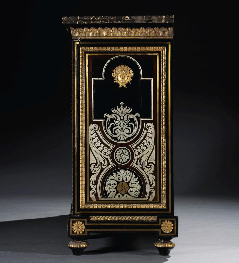 Le mobilier et le renouveau du « style Boulle » dans les années 1770-1780 : Etienne Levasseur et Adam Weisweiler Captu875