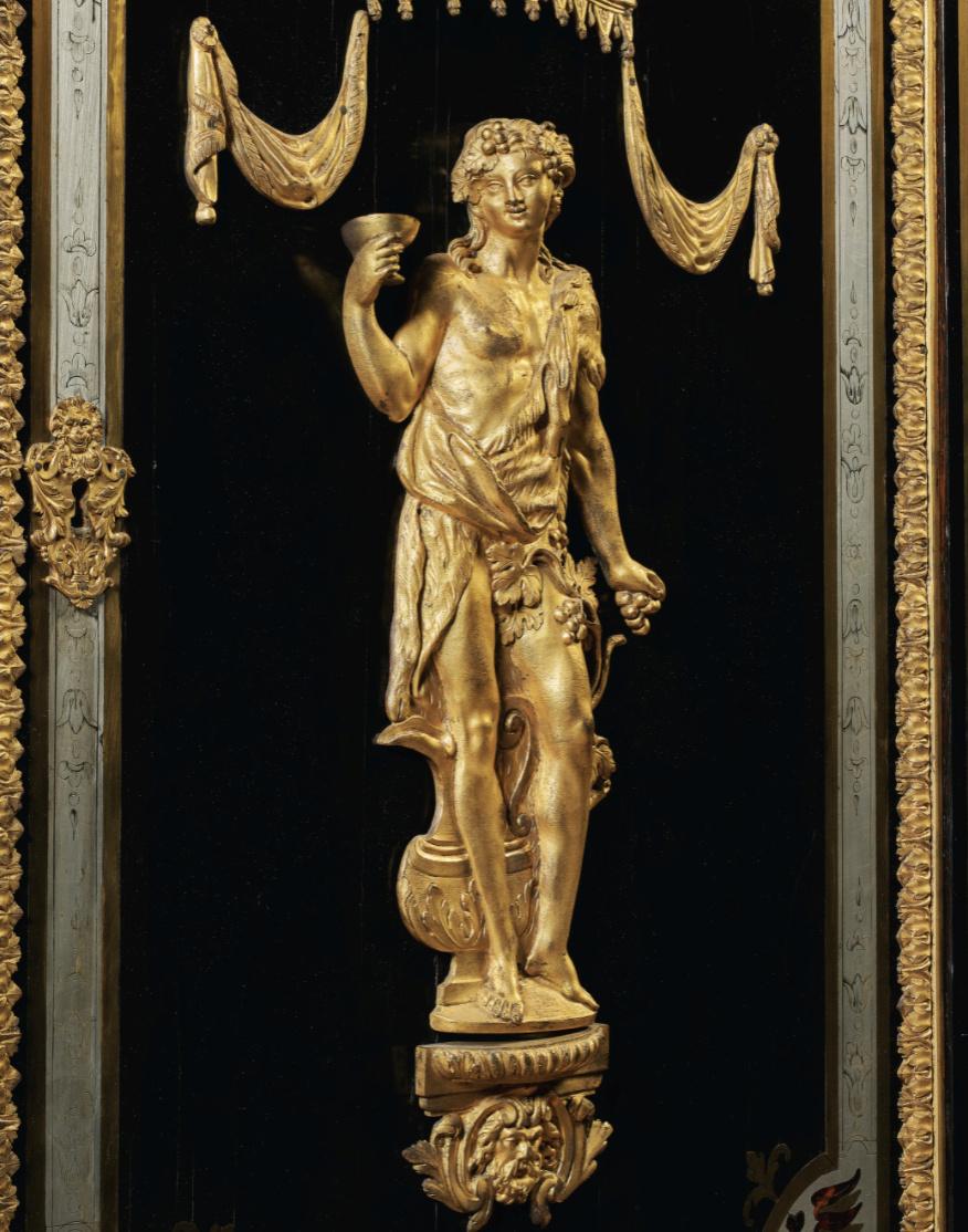 Le mobilier et le renouveau du « style Boulle » dans les années 1770-1780 : Etienne Levasseur et Adam Weisweiler Captu876