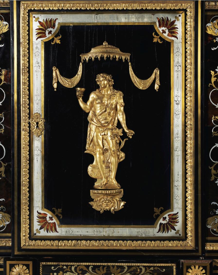 Le mobilier et le renouveau du « style Boulle » dans les années 1770-1780 : Etienne Levasseur et Adam Weisweiler Captu877