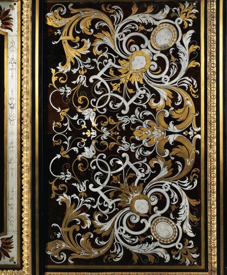Le mobilier et le renouveau du « style Boulle » dans les années 1770-1780 : Etienne Levasseur et Adam Weisweiler Captu878