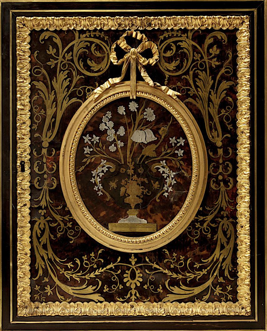 Le mobilier et le renouveau du « style Boulle » dans les années 1770-1780 : Etienne Levasseur et Adam Weisweiler Captu879