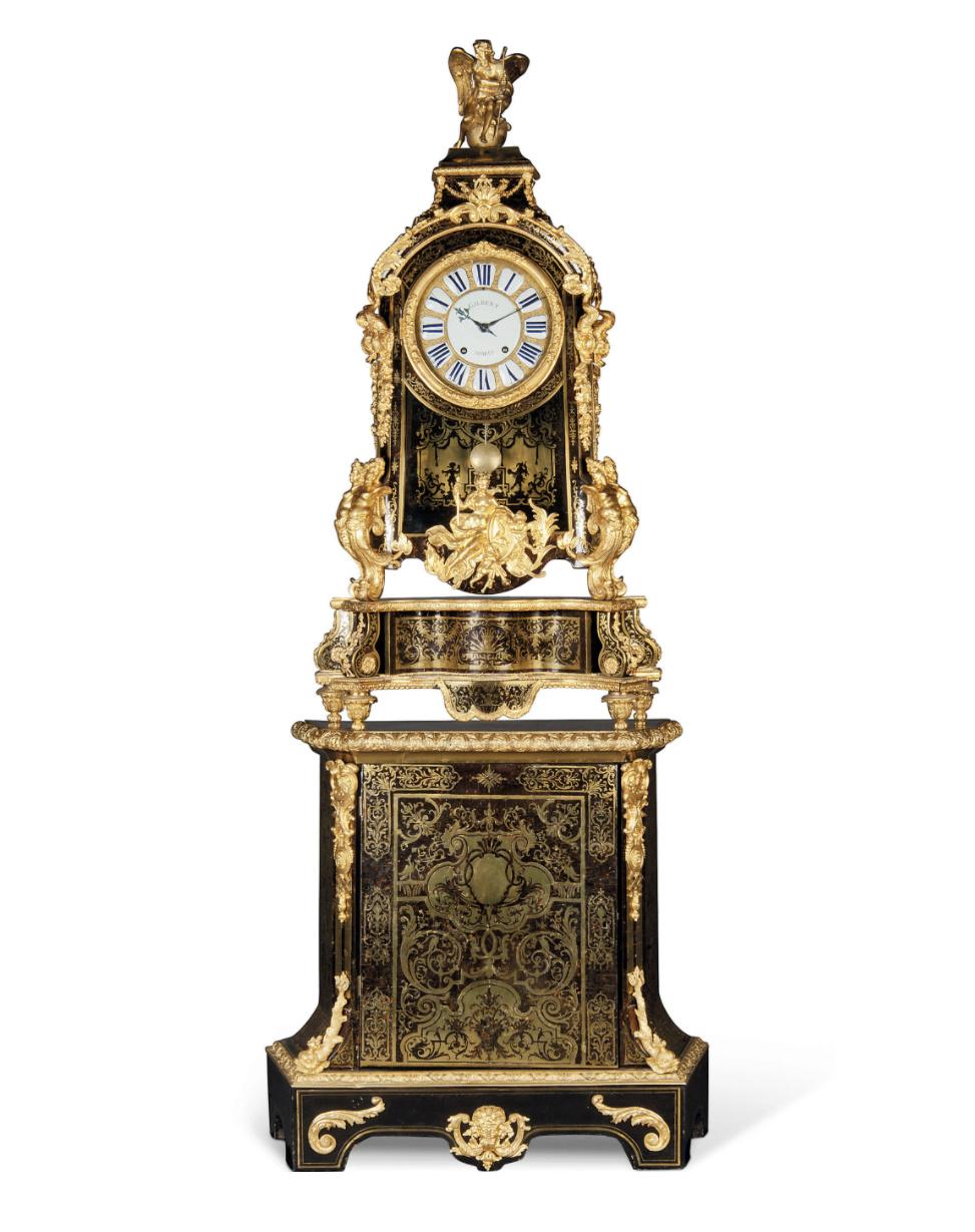 Le mobilier et le renouveau du « style Boulle » dans les années 1770-1780 : Etienne Levasseur et Adam Weisweiler Captu882