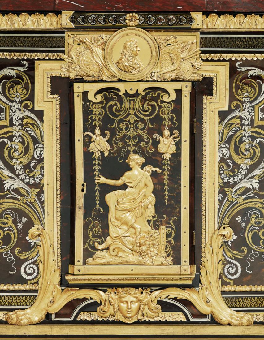 Le mobilier et le renouveau du « style Boulle » dans les années 1770-1780 : Etienne Levasseur et Adam Weisweiler Captu884