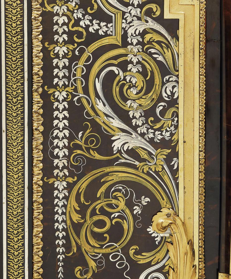 Le mobilier et le renouveau du « style Boulle » dans les années 1770-1780 : Etienne Levasseur et Adam Weisweiler Captu885