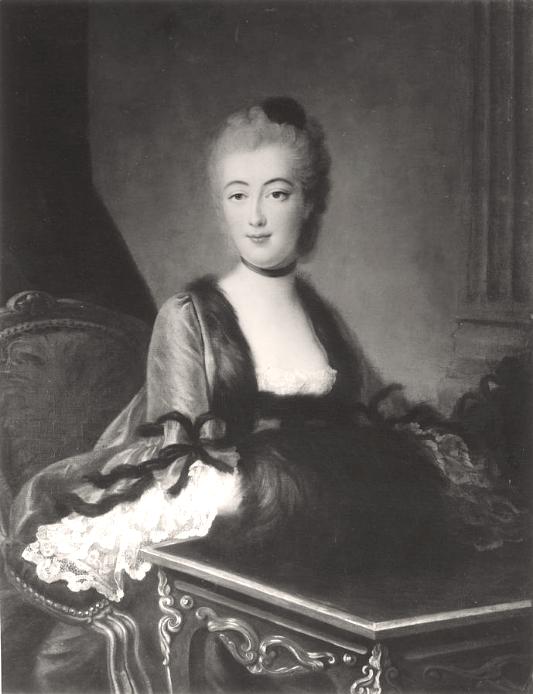 Galerie de portraits : Le manchon au XVIIIe siècle  - Page 2 Captu904