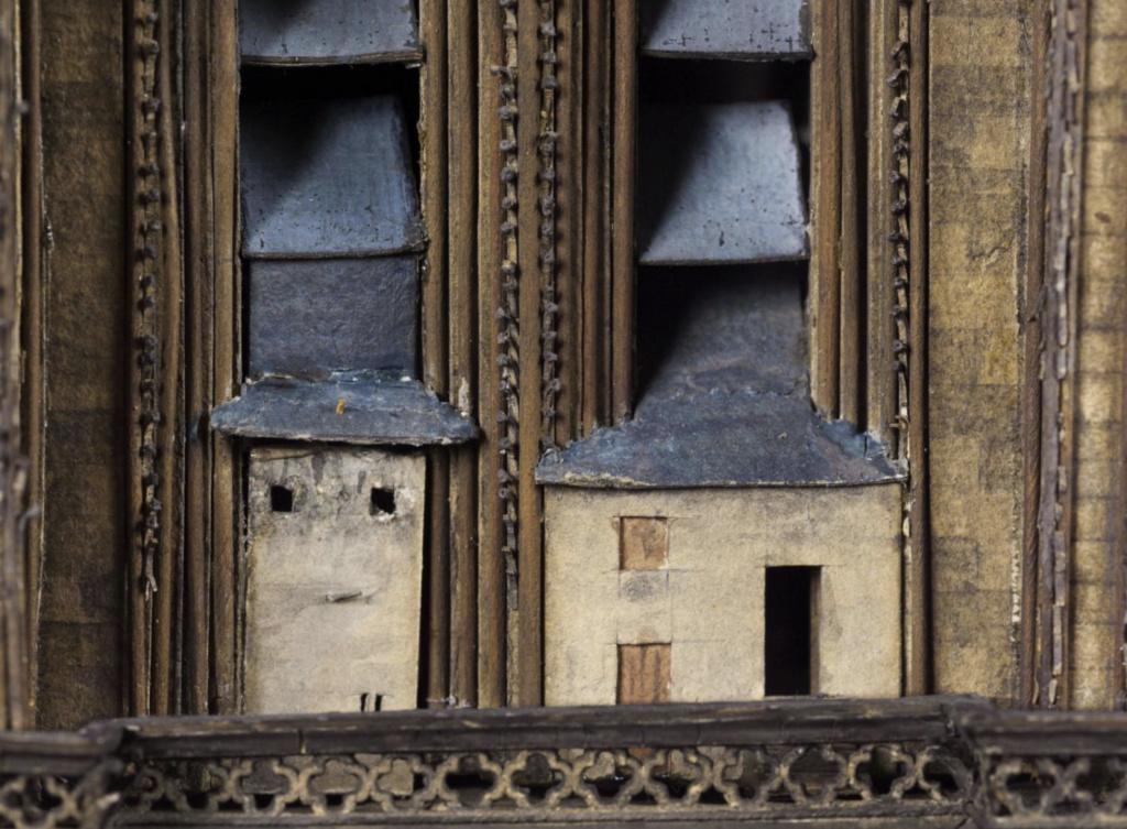 Maquettes historiques de la cathédrale Notre-Dame de Paris Captu934