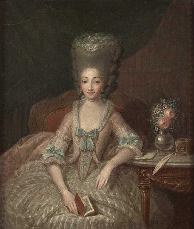 Portraits de Marie-Antoinette et de la famille royale par Charles Le Clercq ou Leclerq - Page 2 Captur20