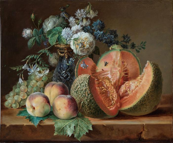 La peinture des fleurs : Sophie de Fuligny-Damas, marquise de Grollier Captur53