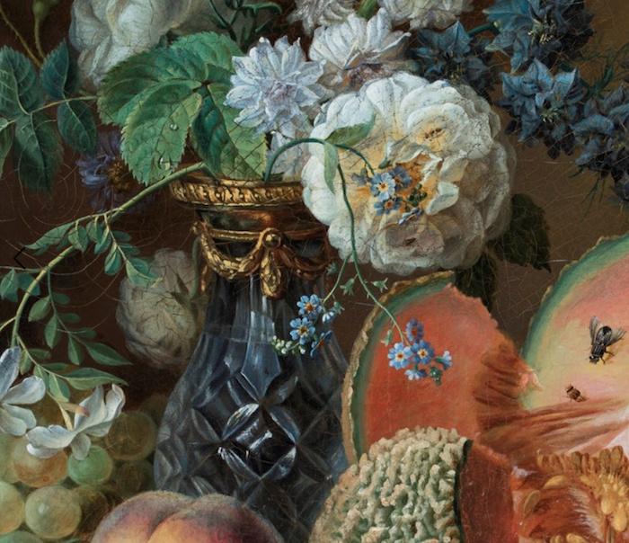 La peinture des fleurs : Sophie de Fuligny-Damas, marquise de Grollier Captur55