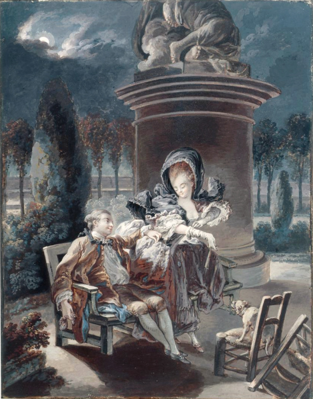 Pierre-Antoine Baudouin, dessinateur du libertinage au XVIIIe siècle Captur75