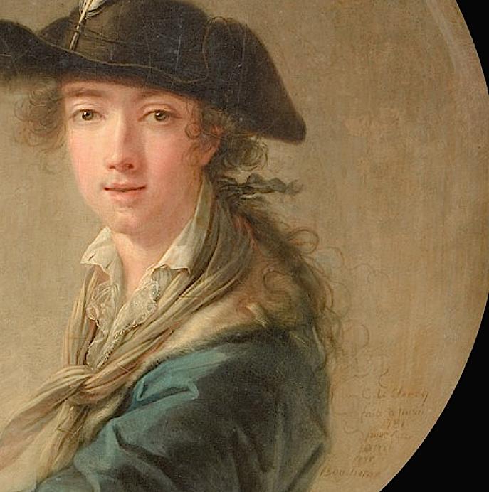 Portraits de Marie-Antoinette et de la famille royale par Charles Le Clercq - Page 3 Captur76