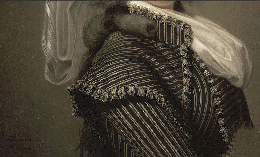 wertmuller - Marie-Antoinette en habit de chasse, ou chemise blanche, par Wertmüller (1788) Captur91