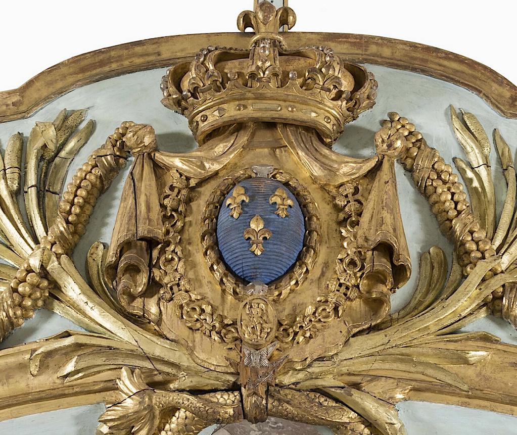 Le canot de promenade de Marie-Antoinette à Versailles Captur98