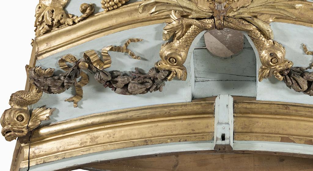 Le canot de promenade de Marie-Antoinette à Versailles Captur99