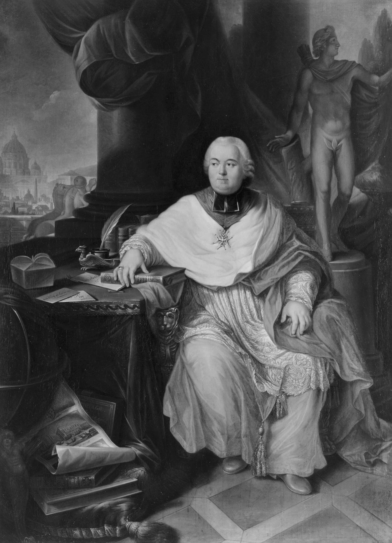 François Joachim de Pierre de Bernis, cardinal de Bernis Cardin14