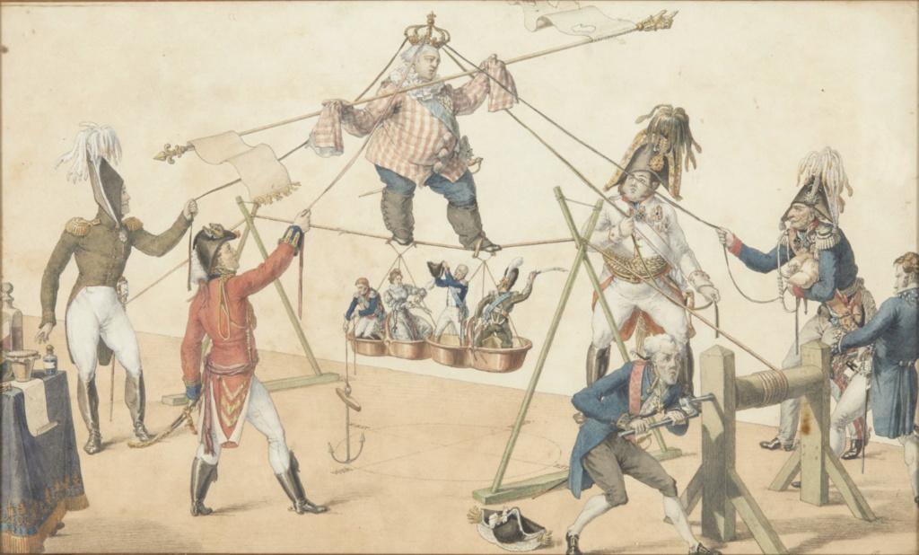 Les rois et reines caricaturés, les caricatures à l'époque de la Révolution française et de la Restauration - Page 6 Carica10