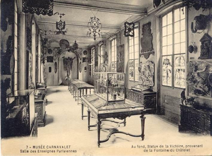 Le Musée Carnavalet, Paris. - Page 5 Carte-12