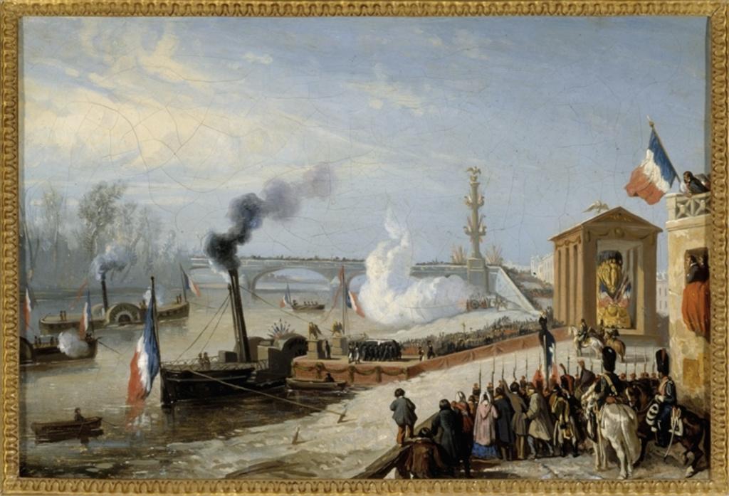 Le pont de Neuilly au XVIIIe siècle Cendre10