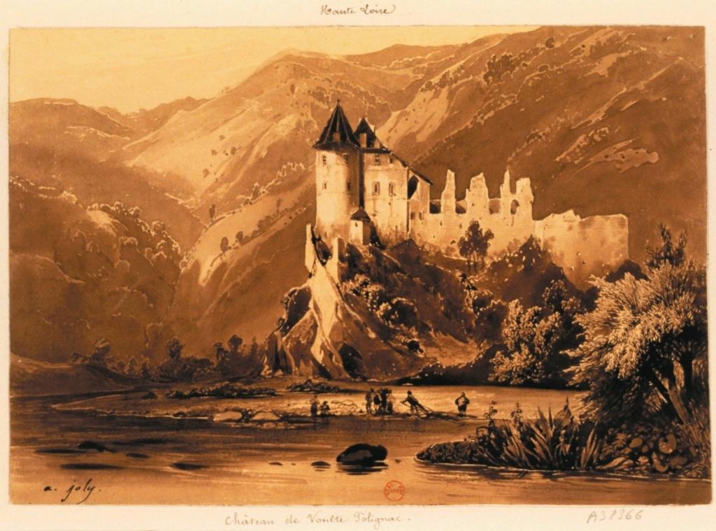 Le château de Lavoûte-Polignac (Haute-Loire) Chaate11