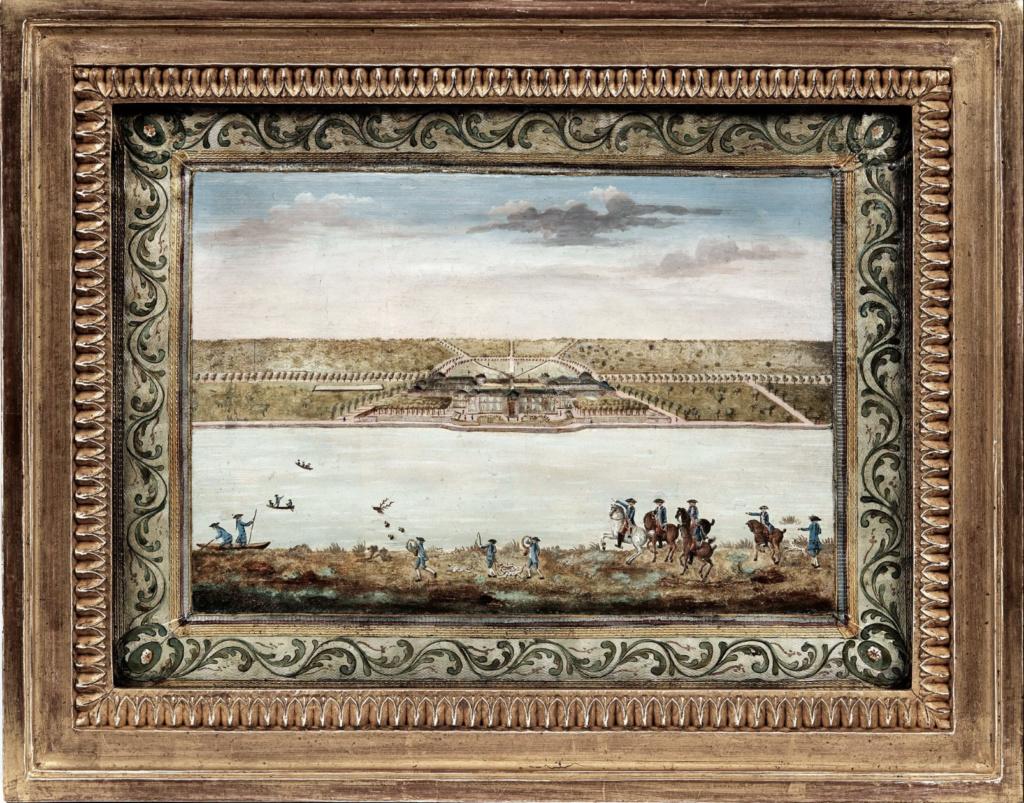 Saint-Hubert, château royal délaissé par Louis XVI Chaate11