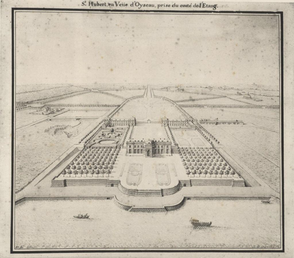 Saint-Hubert, château royal délaissé par Louis XVI Chaate12