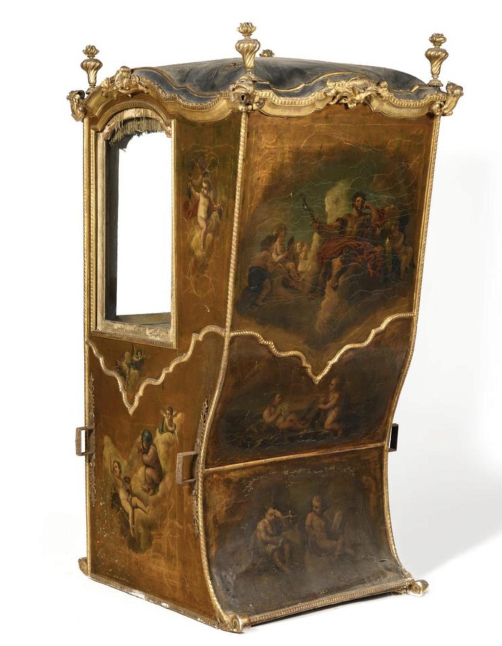 Chaises à porteurs, muletières et palanquins - Page 3 Chaise11
