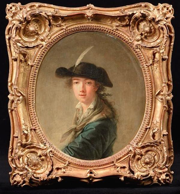 Portraits de Marie-Antoinette et de la famille royale par Charles Le Clercq - Page 3 Charle10