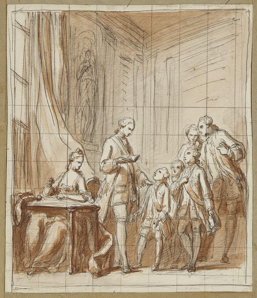 L'éducation du roi à la cour de France Charle14